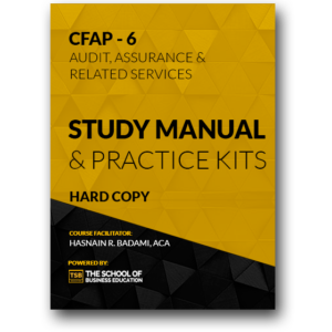 CFAP–6 Study Manual & Practice Kits (Hard Copy)