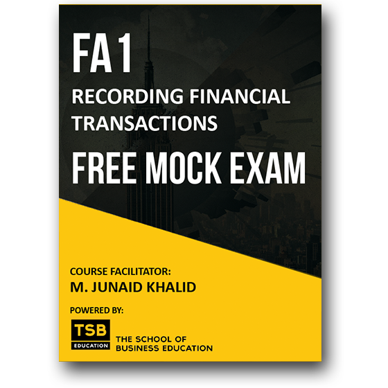 ACCA FA1 - Free Mock Exam